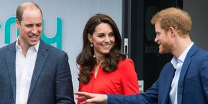 The Duke & Duchess Of Cambridge And Prince Harry Officially Open The Global Academy