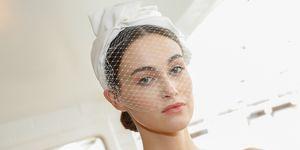 wedding dress - wedding veil