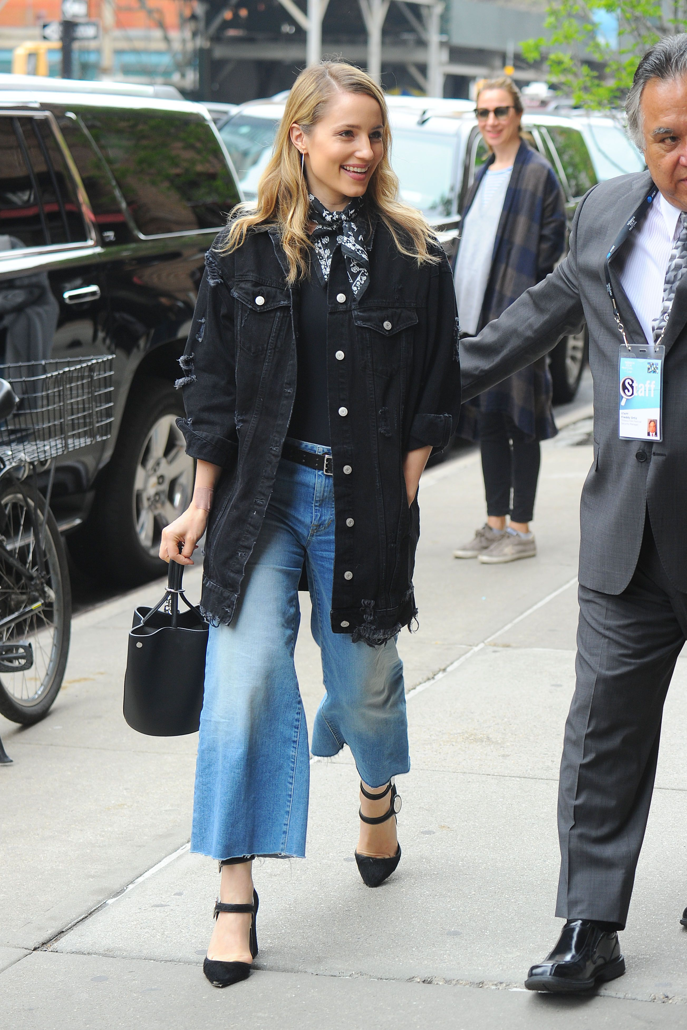 Blackout Let us not forget about the denim that doubles as a blazer, which is now your new  office staple.