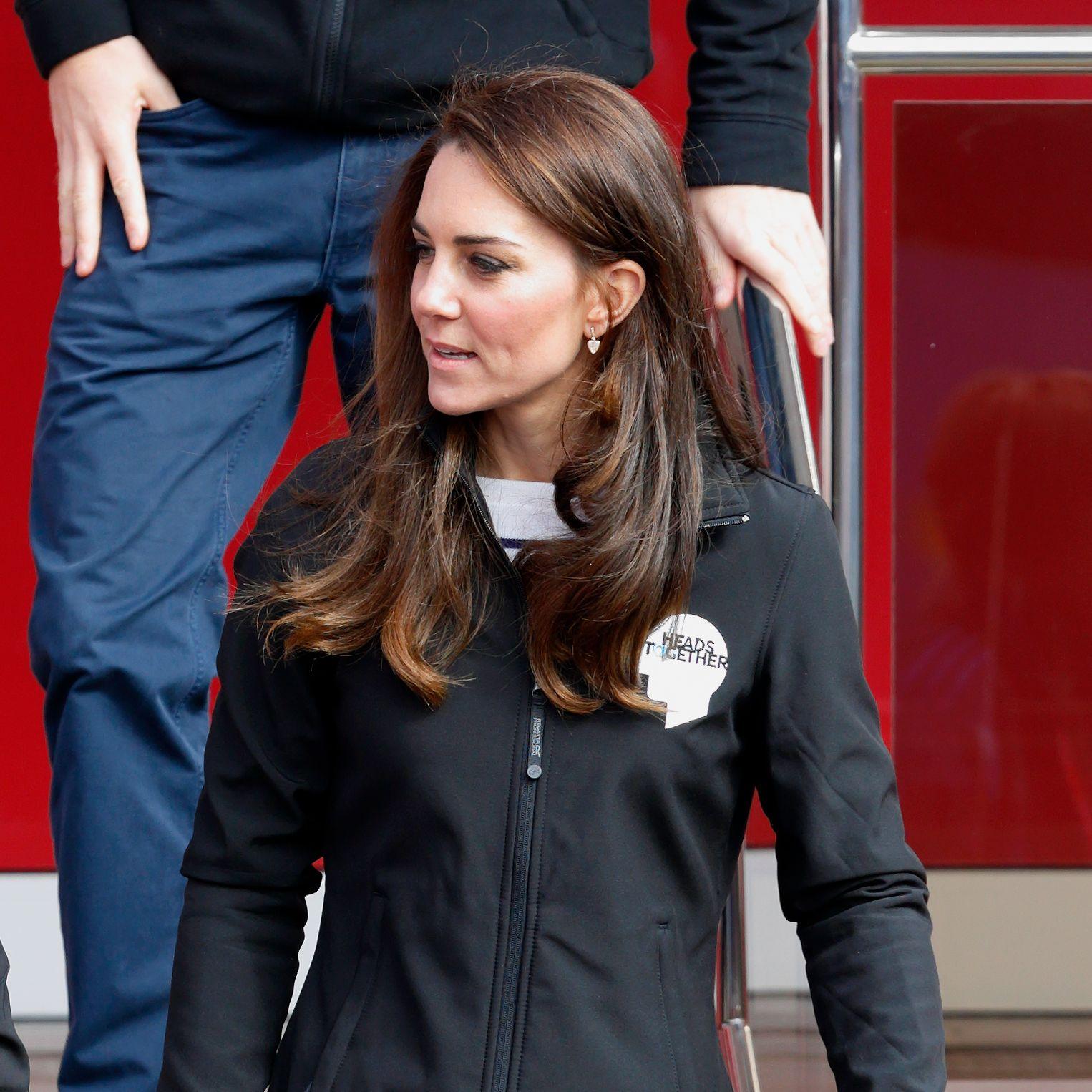 duchess of cambridge heads together marathon