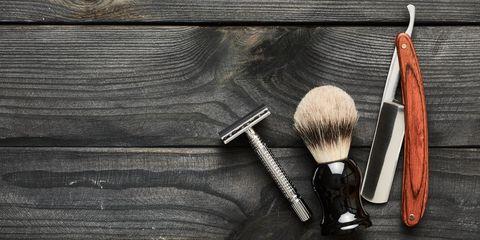 shaving in public