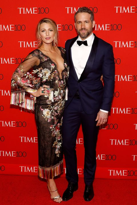 Blake Lively and Ryan Reynolds at Time 100