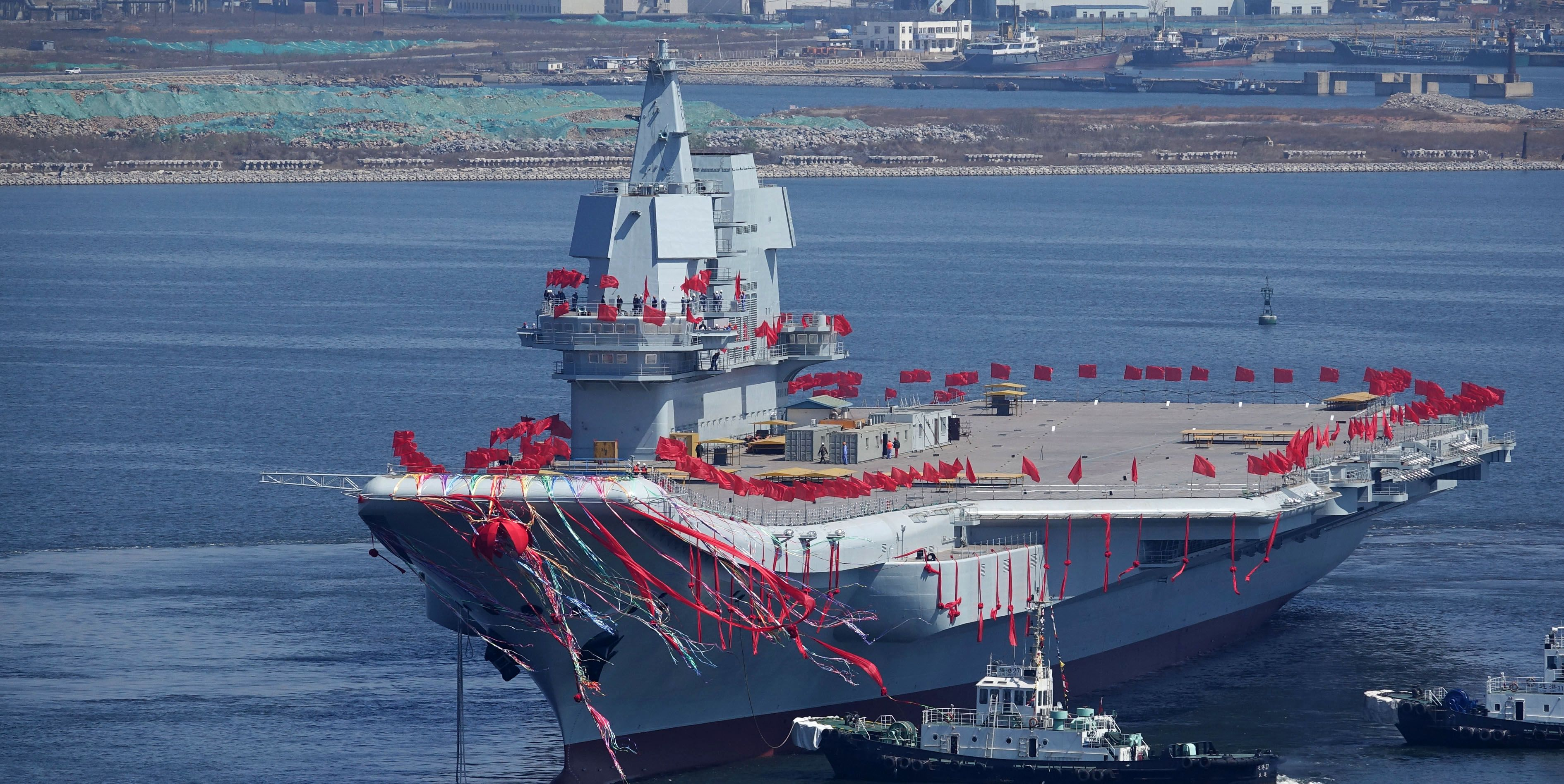 China's Second Aircraft Carrier Is Its Most Crucial Yet (popularmechanics.com)