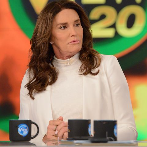 the view   caitlin jenner is the guest tuesday, april 26, 2017 on walt disney television via getty imagess the view   the view airs monday friday 1100 am 1200 pm, et on the walt disney television via getty images television network     photo by lorenzo bevilaquawalt disney television via getty images  caitlyn jenner