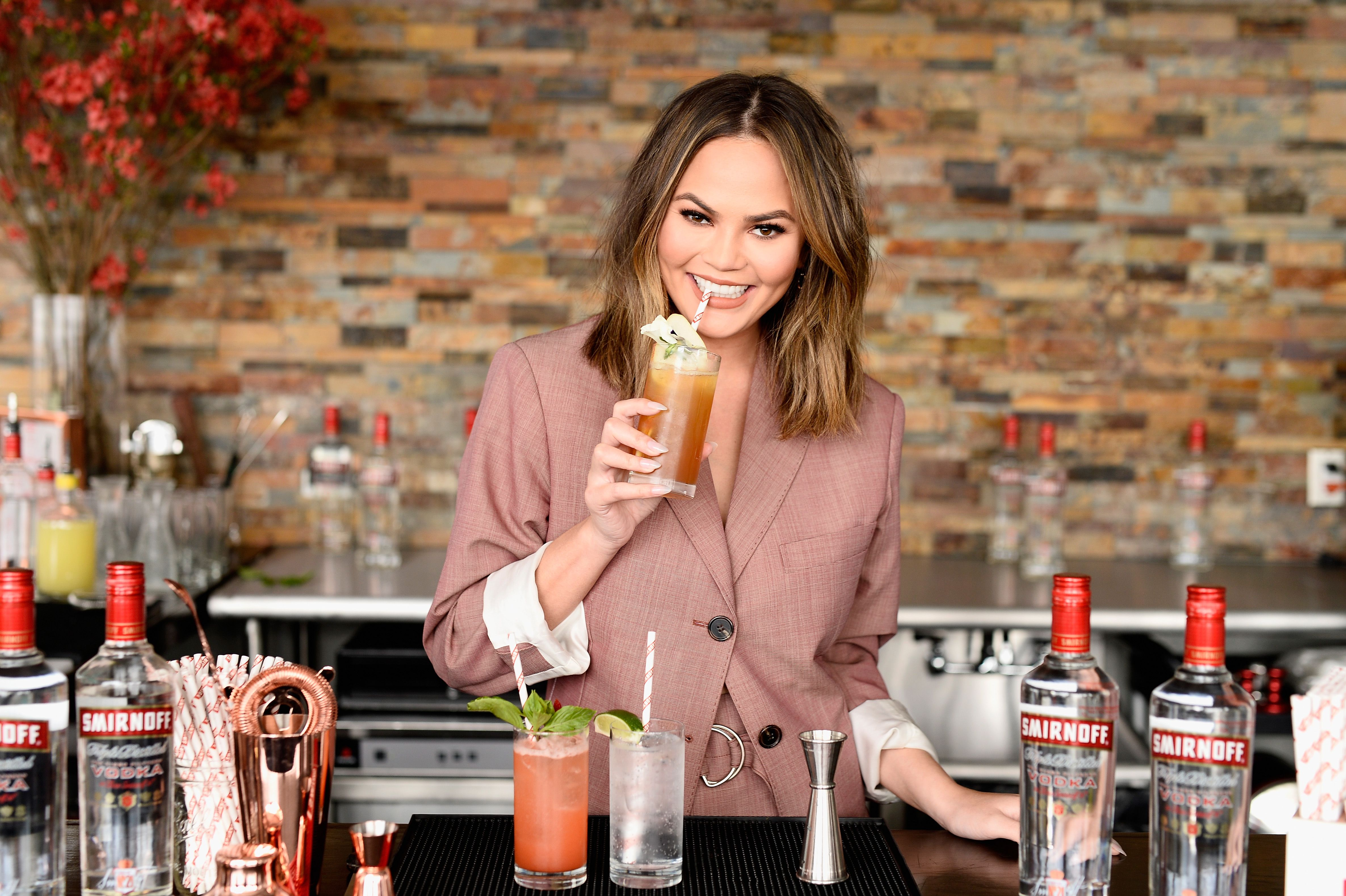 Chrissy Teigen's Secret Ingredients for Hot Cocoa Will Blow Your Mind