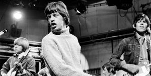 Mick Jagger turtleneck