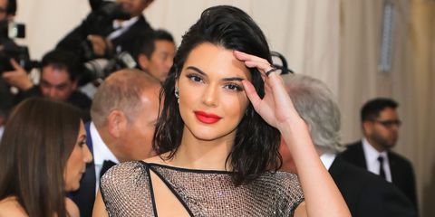 Kendall Jenner on the 2017 Met Gala red carpet