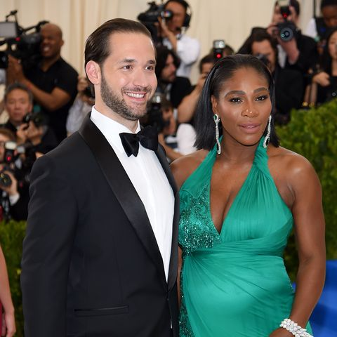 new york, ny may 01 alexis ohanian l and serena williams attend the rei kawakubocomme des garcons art of the in between costume institute gala at metropolitan museum of art on may 1, 2017 in new york city photo by dimitrios kambourisgetty images