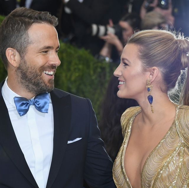 new york, ny   may 01  ryan reynolds l and blake lively attend the rei kawakubocomme des garcons art of the in between costume institute gala at metropolitan museum of art on may 1, 2017 in new york city  photo by dia dipasupilgetty images for entertainment weekly