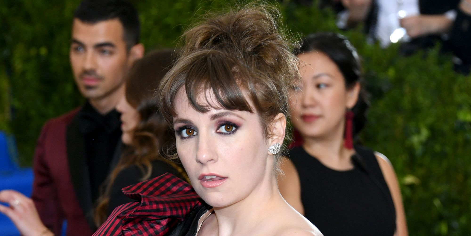 Lena Dunham at the Met Gala 2017