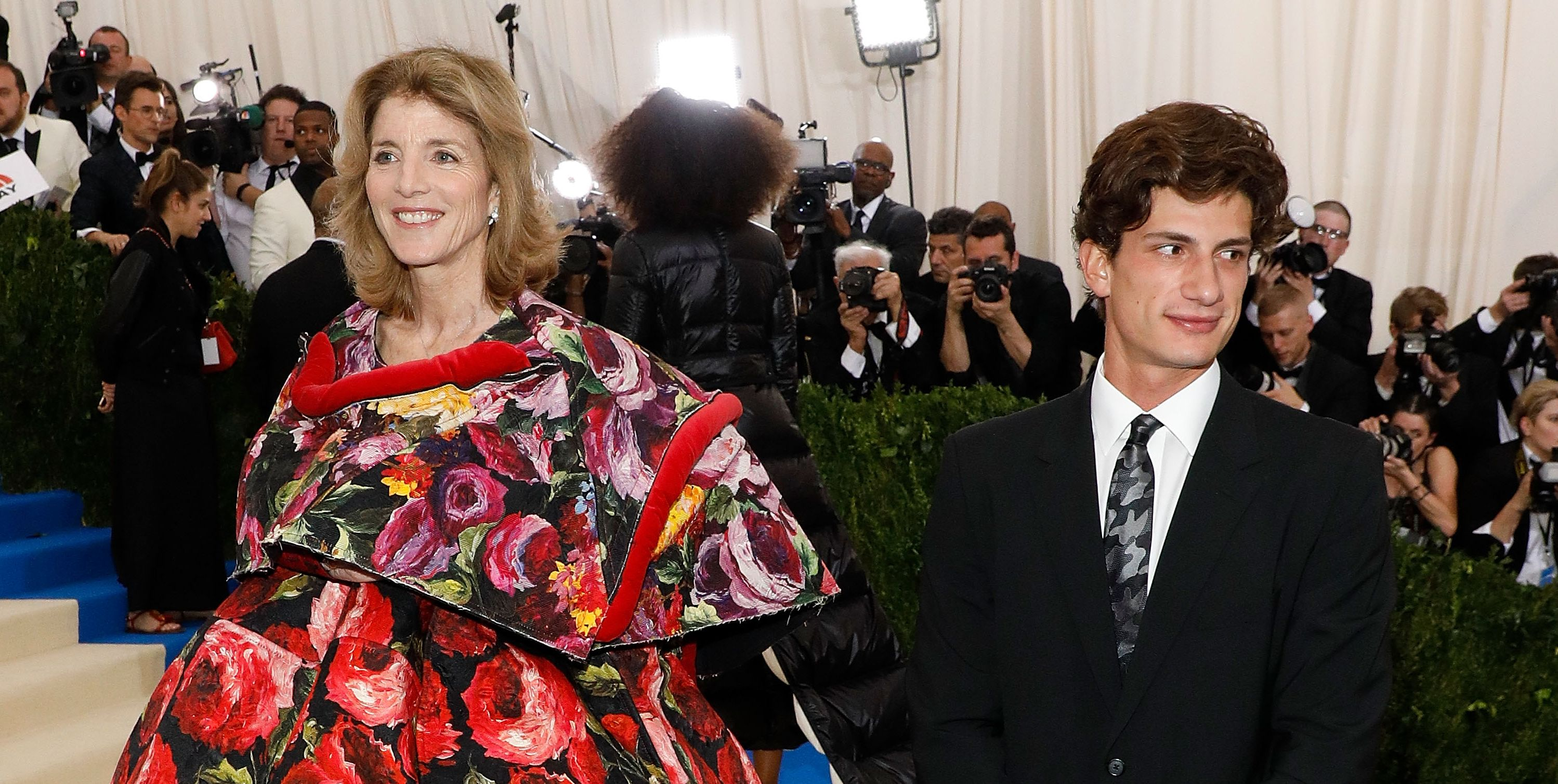 caroline kennedy met ball