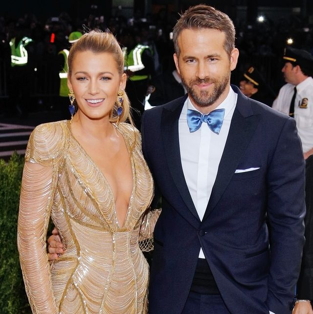 new york, ny   may 01  blake lively and ryan reynolds attend rei kawakubocomme des garçonsart of the in between costume institute gala at metropolitan museum of art on may 1, 2017 in new york city  photo by jackson leefilmmagic