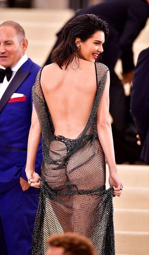 Clothing, Fashion model, Dress, Fashion, Neck, Shoulder, Hairstyle, Event, Leg, Thigh,