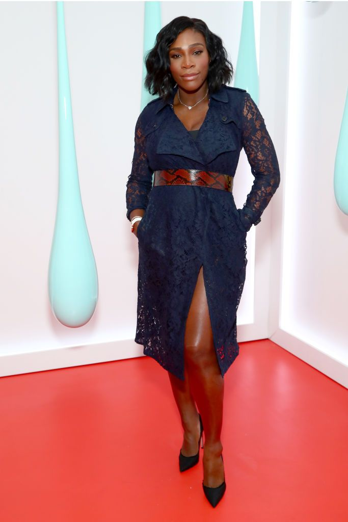 Serena Williams at Burberry DK88 bag launch