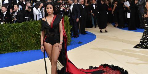 Nicki Minaj at the met gala