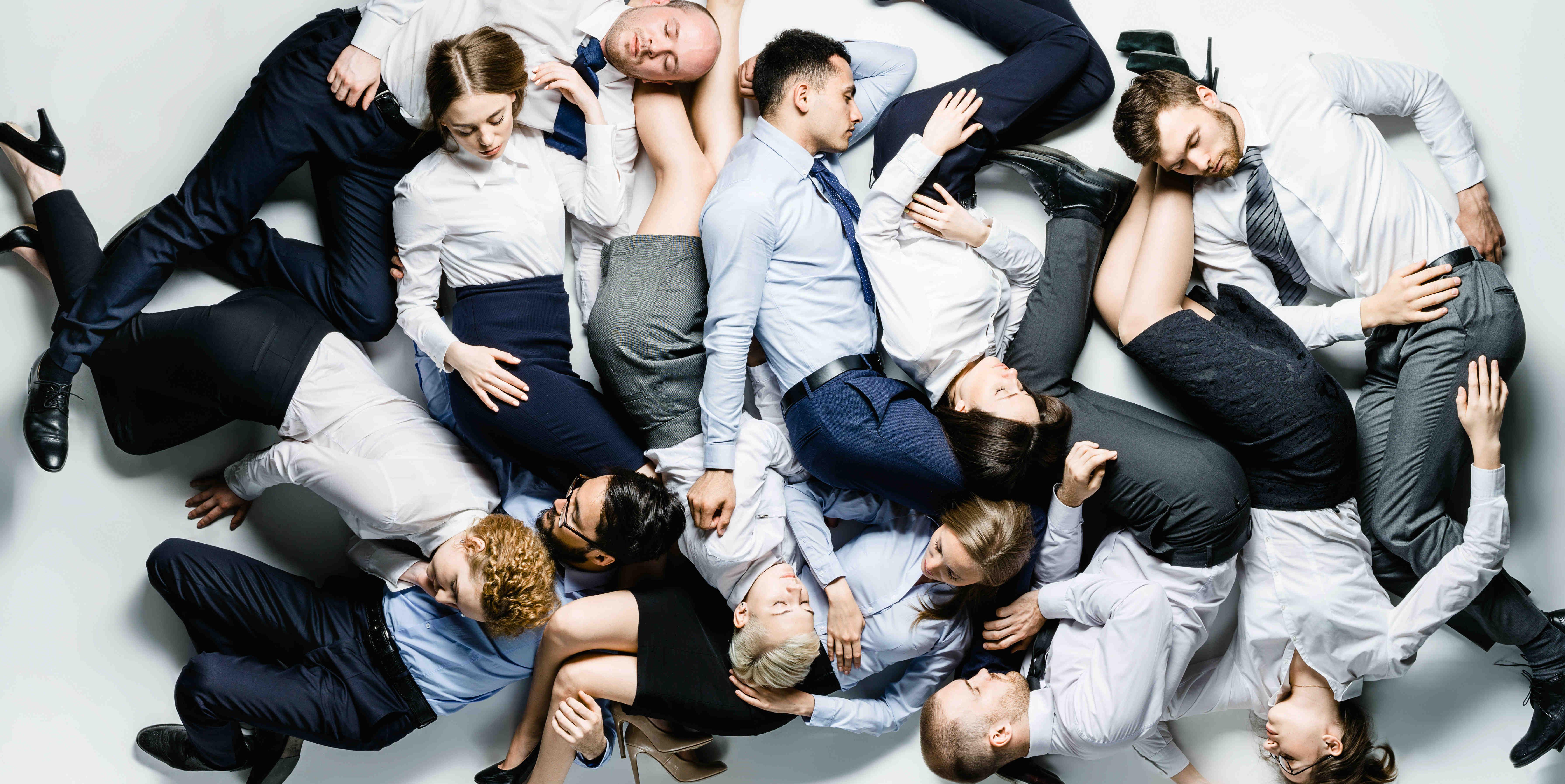 Trabajadores durmiendo