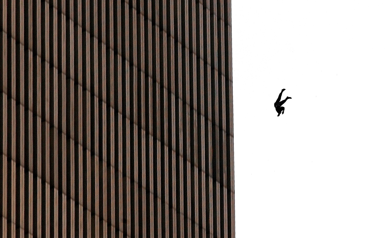 La vera storia della foto più famosa dell'11 settembre