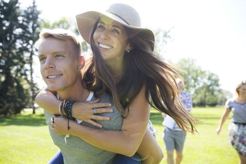Facial expression, Fun, Friendship, Smile, Happy, Summer, Grass, Leisure, Photography, Vacation,