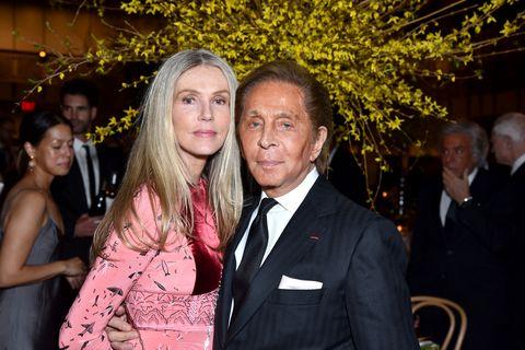 Charlene Shorto and Valentino Garavani attend the New York City Ballet 2017 Spring Gala
