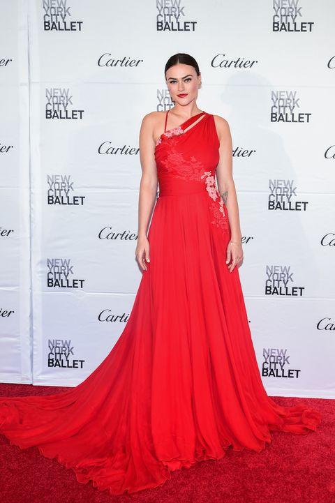 Model Myla Dalbesio attends the New York City Ballet 2017 Spring Gala