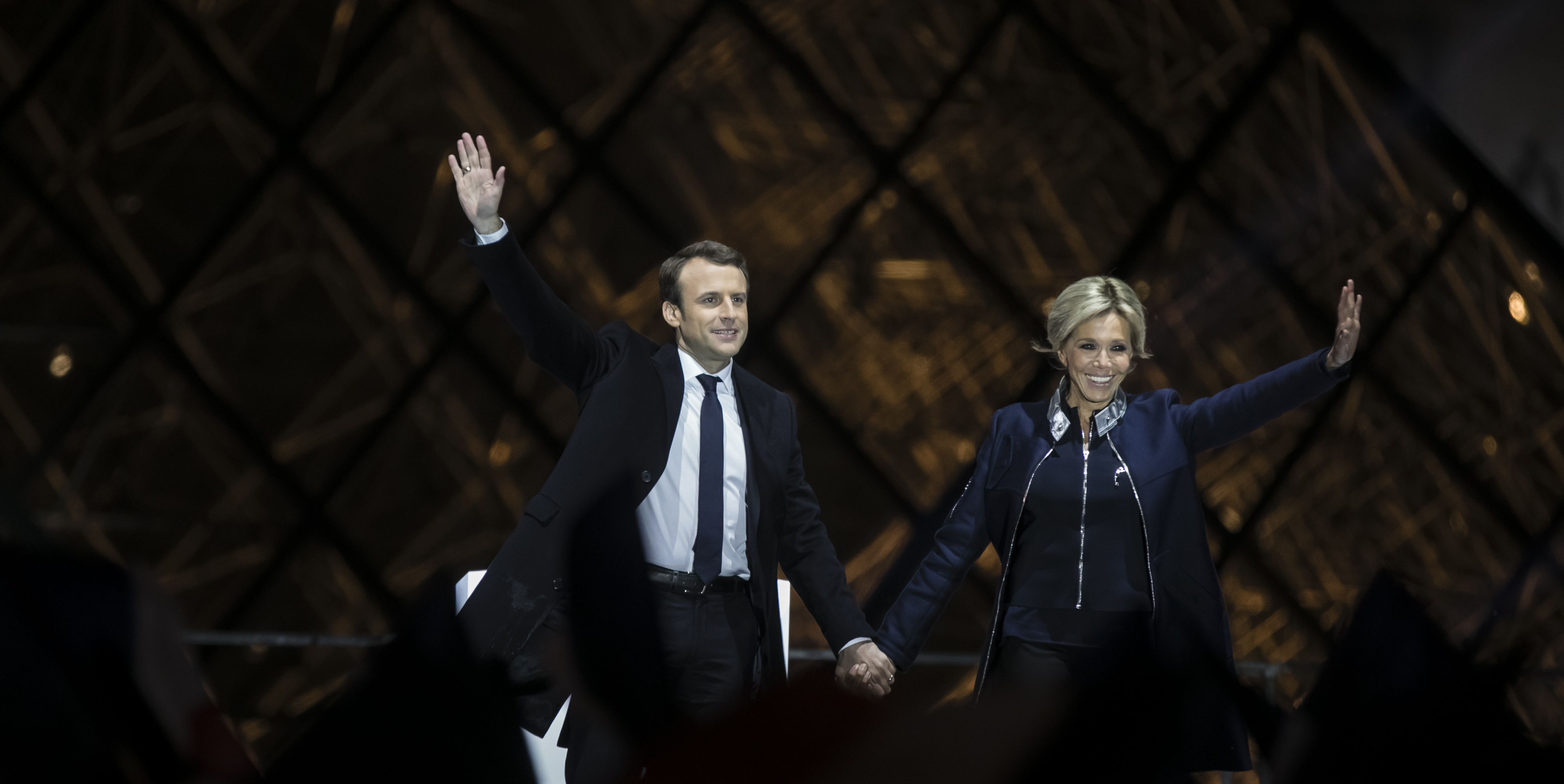 Who Is Emmanuel Macron's Wife Brigitte Trogneux? 13 Facts About France's Newest First Lady.