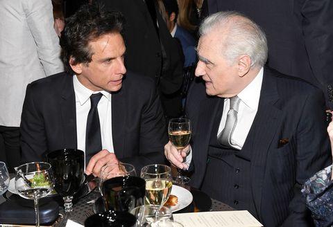 Ben Stiller and Martin Scorsese