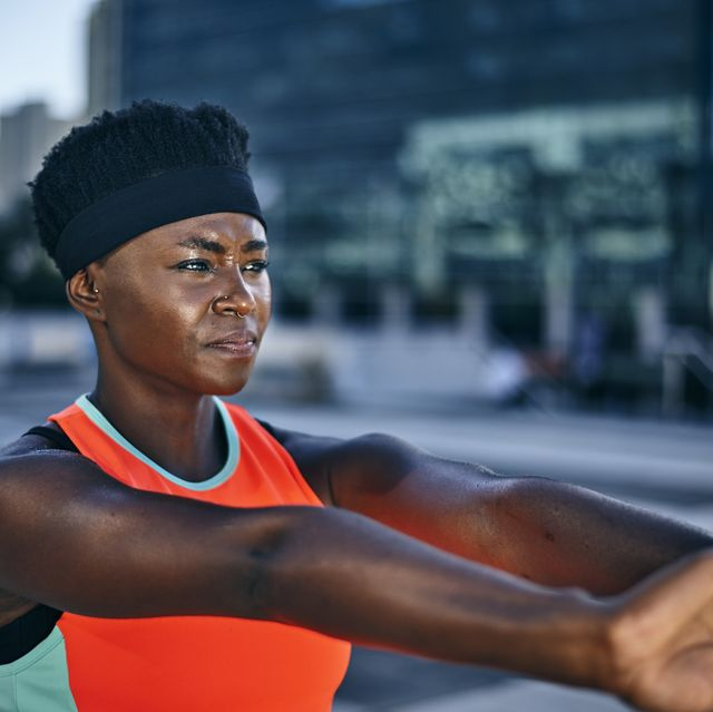 upper body flexibility stretches, women's health uk