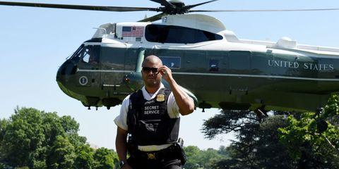 Marine One White House Secret Service