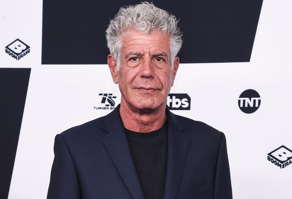 Anthony Bourdain's Estate Is Going to Auction
