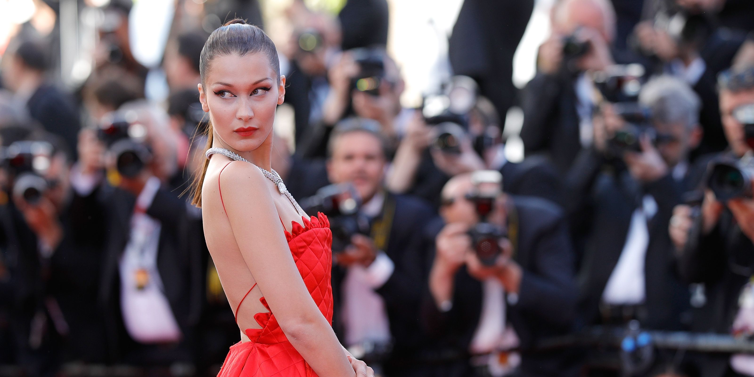 Bella Hadid Wins Again on the Cannes Red Carpet