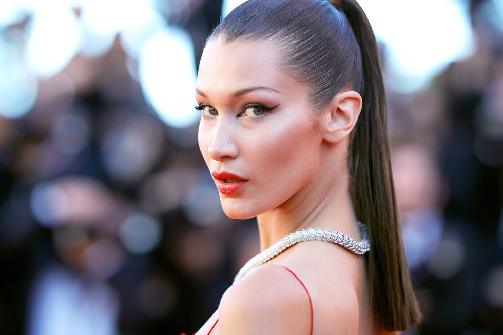 Bella Hadid Goes Back to Her Original Dirty Blonde Hair Color With New Dye Job