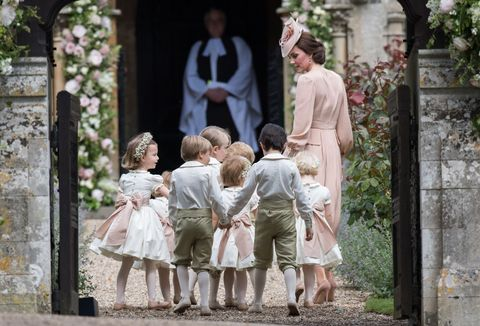 Kate Middleton and children
