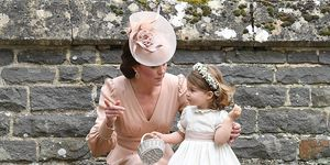 princess charlotte bridesmaid