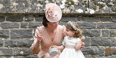 princess charlotte bridesmaid