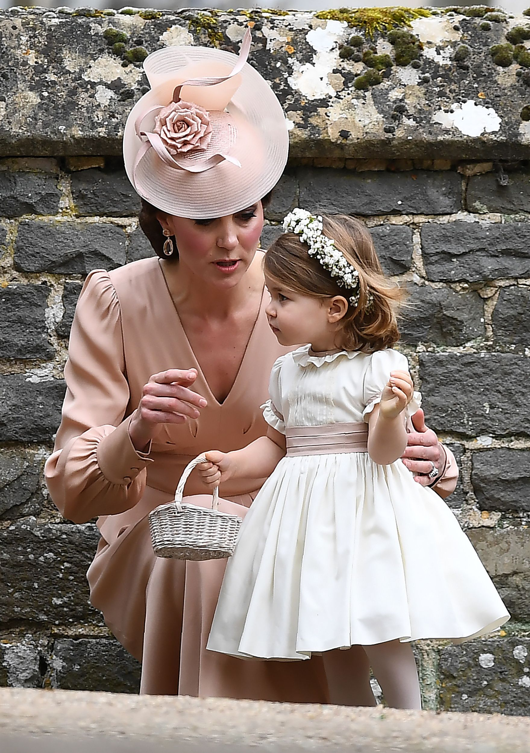 princess charlotte pippa's wedding