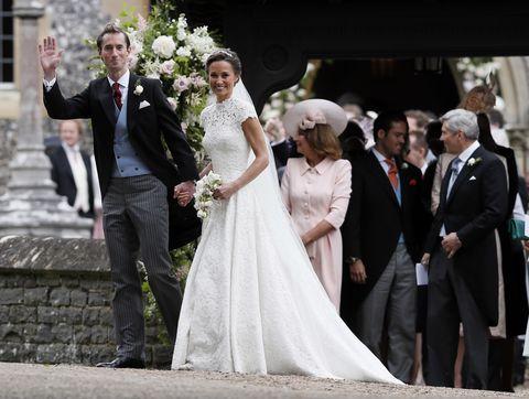 Pippa Middleton Wedding News Details On The Dress Reception