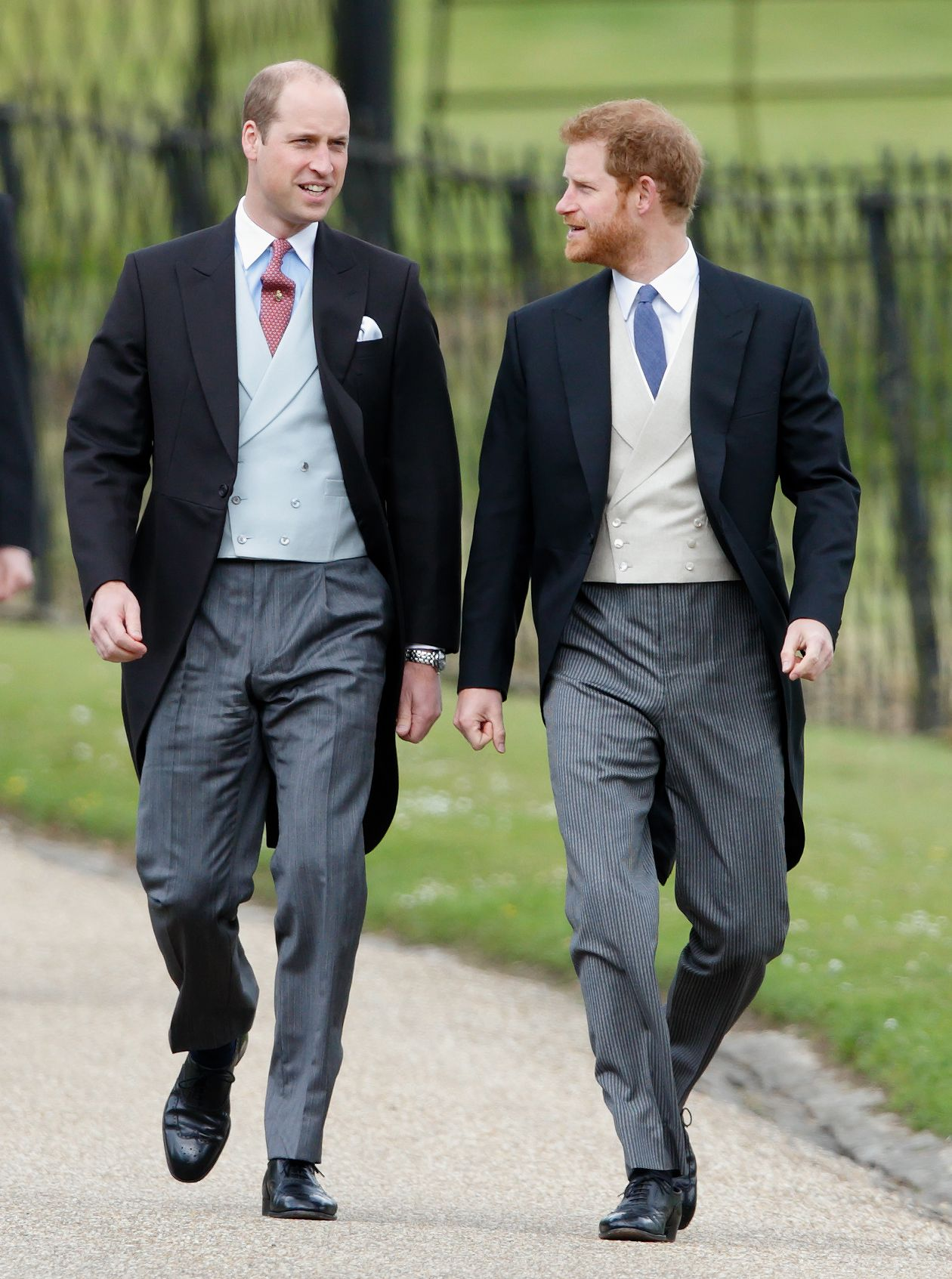 "Prince Harry says he and Prince William are ""on different paths"""