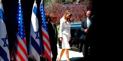 Melania trump in israel