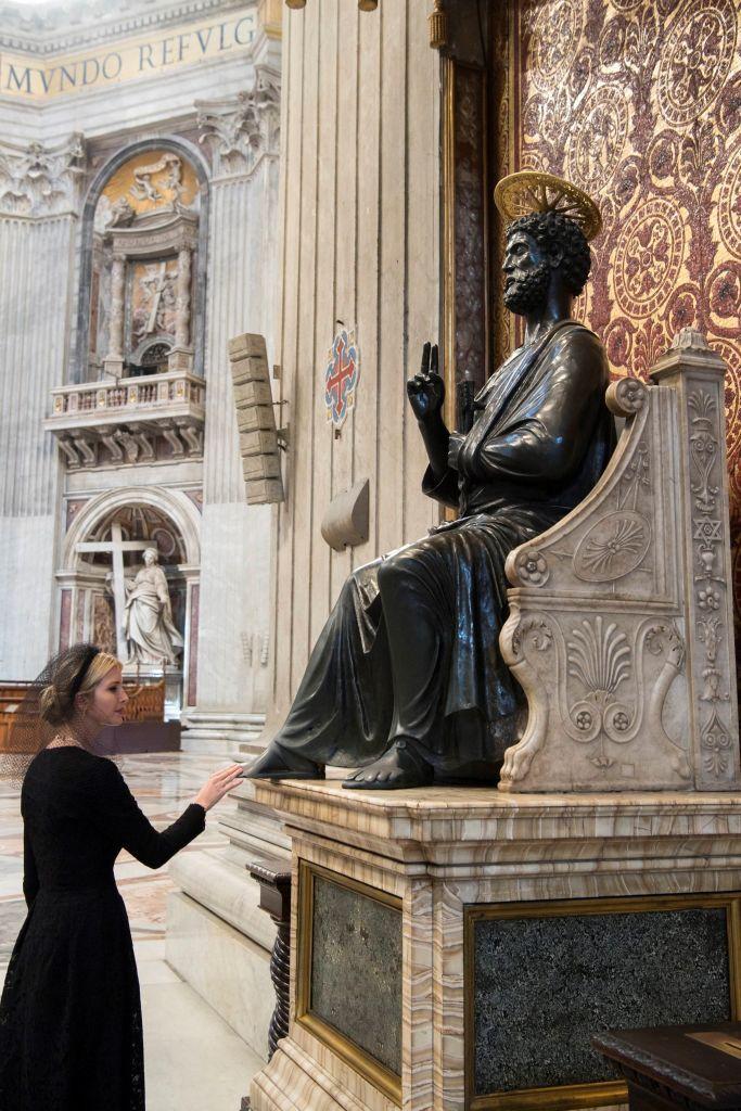 Ivanka Trump at the Vatican