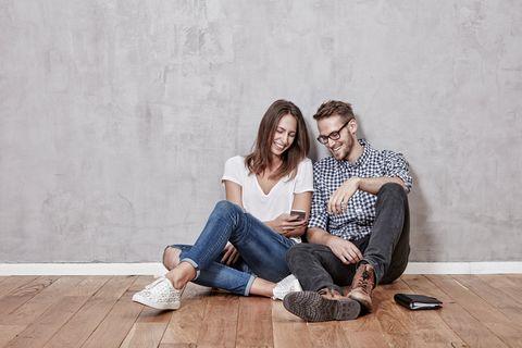 Photograph, Sitting, People, Photography, Jeans, Fun, Leisure, Floor, Flooring, Denim,