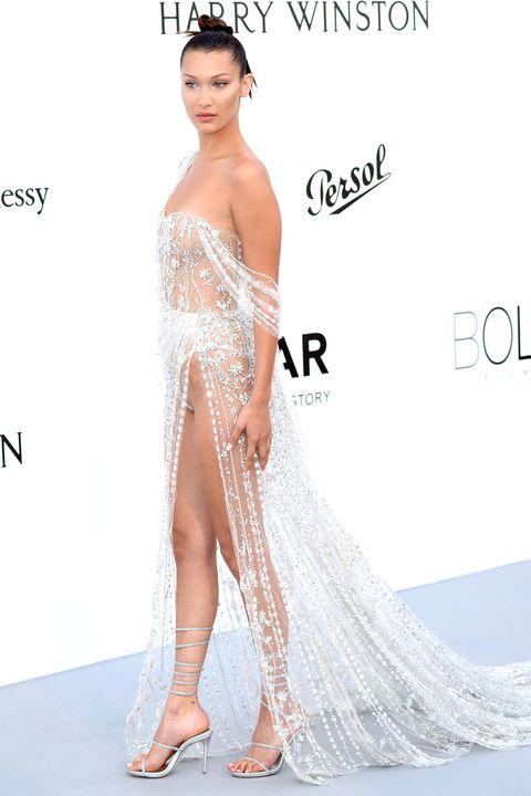 Clothing, Human, Skin, Shoulder, Joint, Fashion model, Style, Waist, Eyelash, Dress,