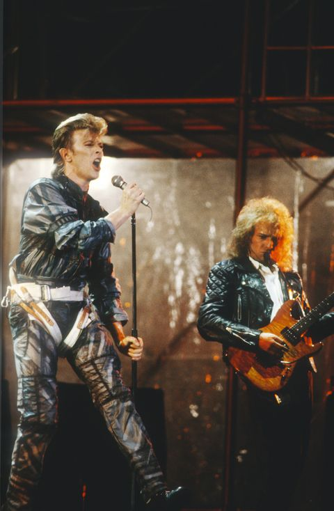 david bowie   festivalground    werchter   belgium   02061987the glass spider tourdavid bowie   peter framptonphoto gie knaeps