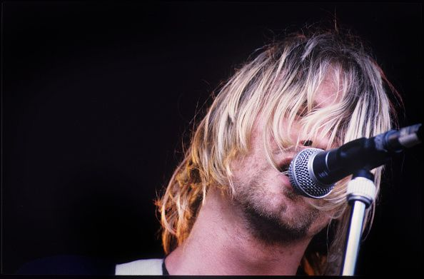 Kurt Cobain at Pukkelpop Festival in Hasselt, Belgium in 1991.