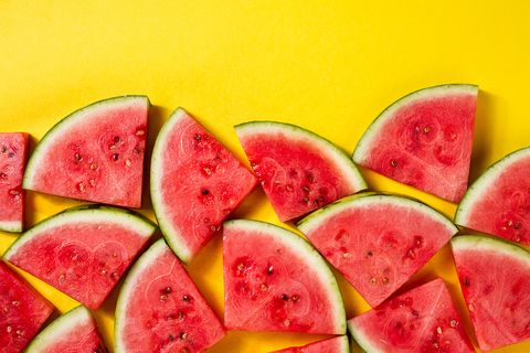 Watermelon, Melon, Natural foods, Fruit, Plant, Citrullus, Food, Superfood, Seedless fruit, Local food,