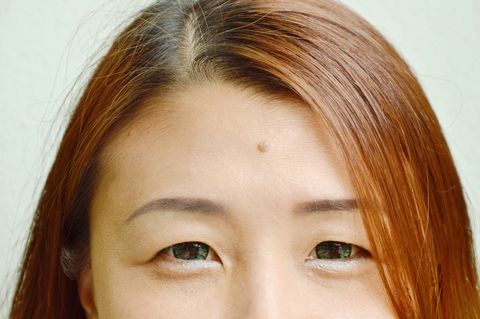 Face, Eyebrow, Hair, Forehead, Nose, Hairstyle, Eye, Skin, Chin, Eyelash,