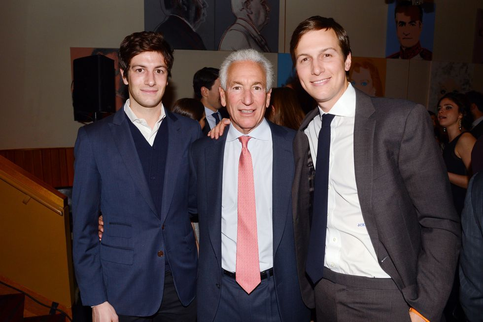 Jared Kushners Family Charles Seryl Josh Nicole and Dara Kushner