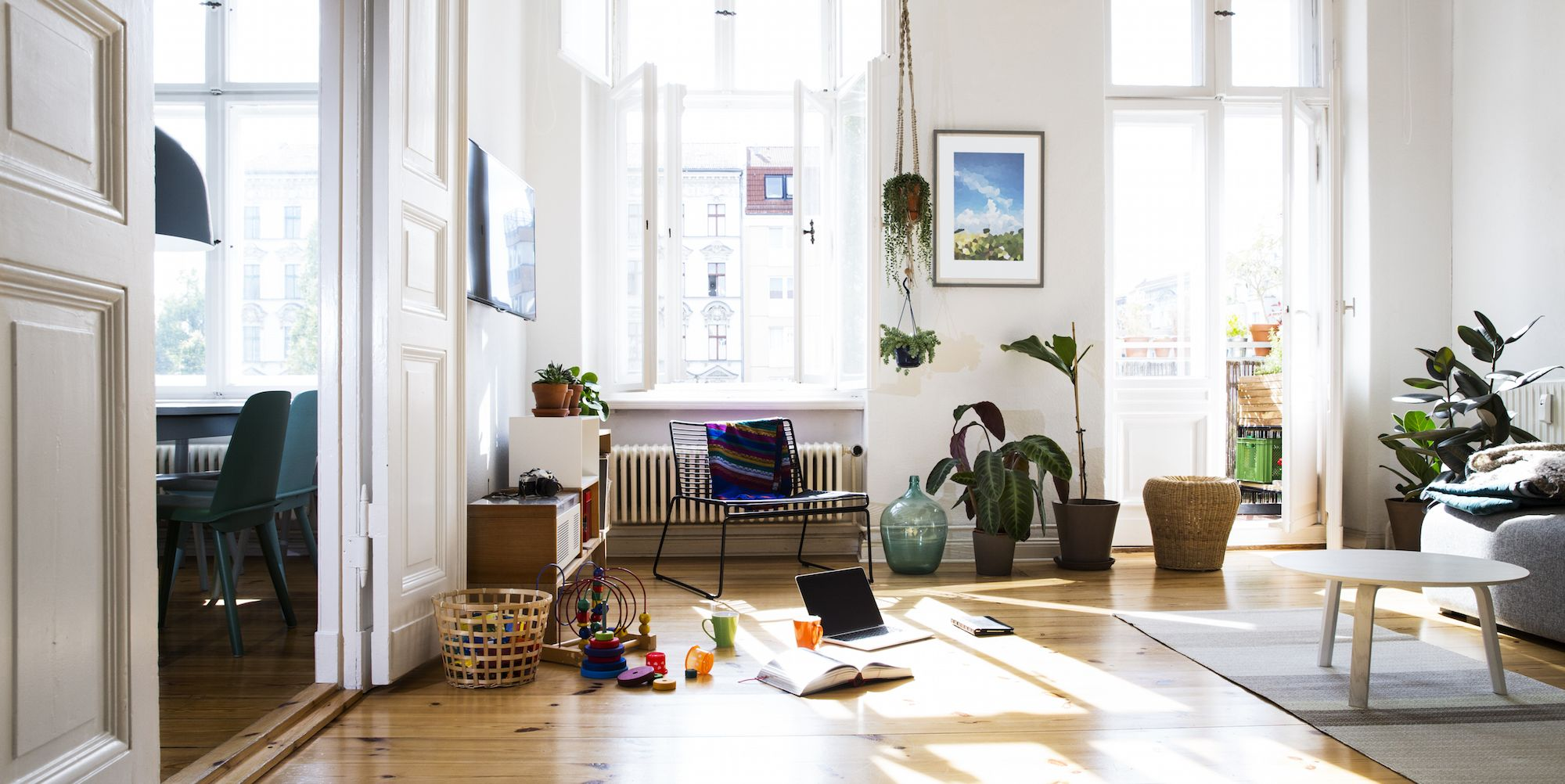 Living room family