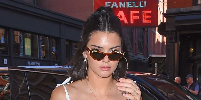 Kendall Jenner's Nipples are on Full Display in Crazy Cute See-Through Tank