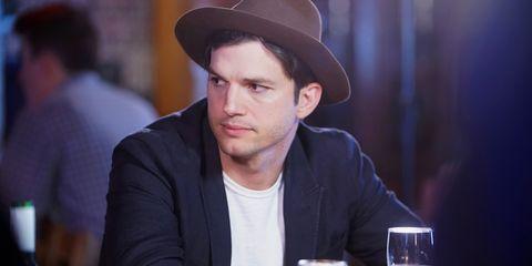 Ashton Kutcher water fast