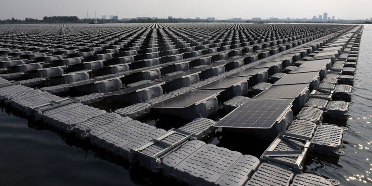 Netherlands To Build First Solar Farm That Will Float In